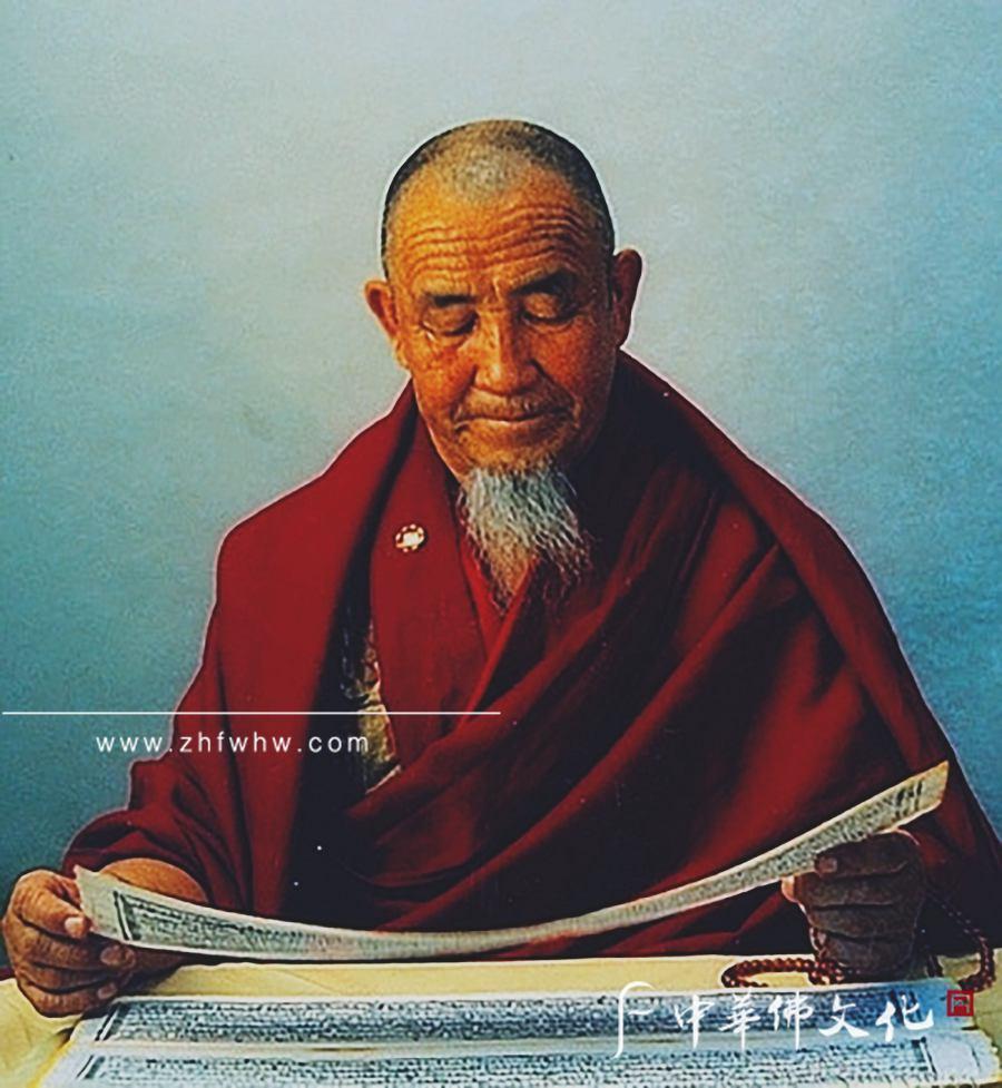 嘉木樣圖布丹通曉蒙古文和藏文,並有較好的梵文基礎_副本.jpg
