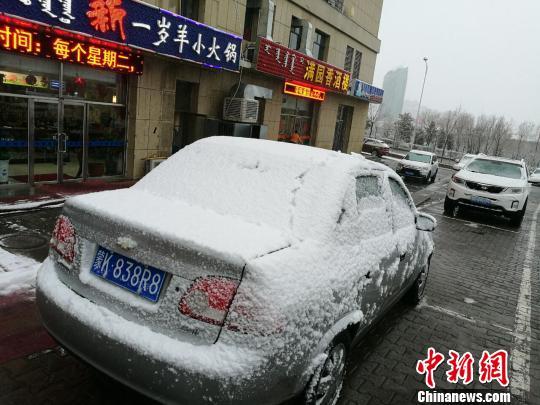 图为内蒙古雪景。 李爱平 摄