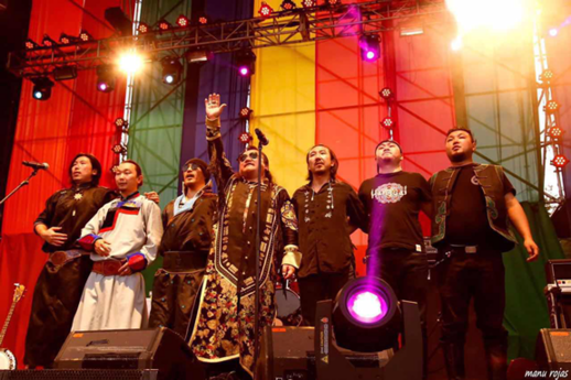 微格时代携杭盖乐队开启全国巡演 唱响草原最强音