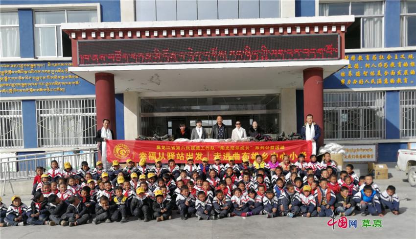 其中,阳光学堂是在每周日上午,安排援藏教师分组定时去给福利院的孩子