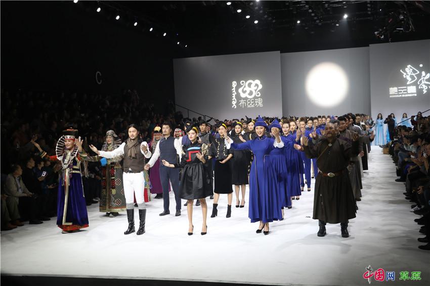 蒙元素首登中国国际时装周 以匠人之心讲述传承的故事