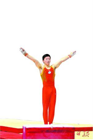 蒙古族小將塔音嘎一路追尋自己的體操夢,終於在廣州實現夢想。