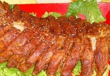 草原美食——金刀烤羊背