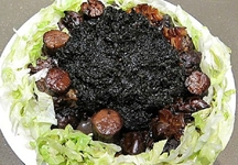 內蒙古美食——扒雞茸發菜