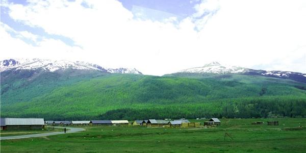 來到夏季的新疆喀納斯 進入了夢的家園